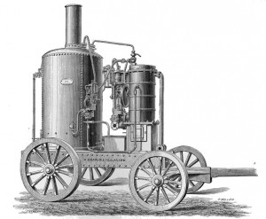 Chaplin Water Distiller Used to Purify Sea Water
